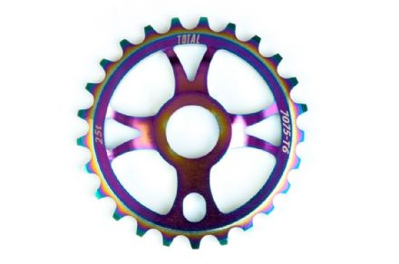 Total BMX Rotary Sprocket - Rainbow 25 Tooth